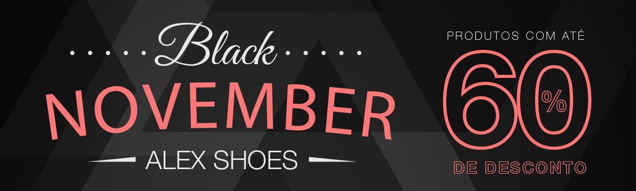 Black November Alex Shoes