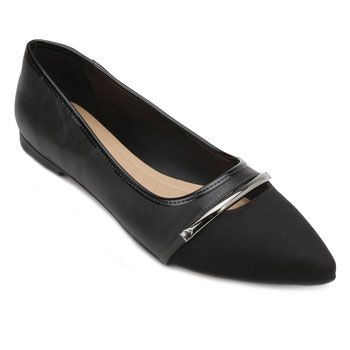 Sapatilha Lady Queen AM18-34017 Suede Preto TAM 40 ao 44