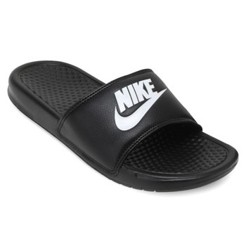 f2ef1dff89 Chinelo Nike Benassi JDI Preto-Branco