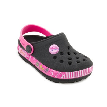 Chinelo Babuche Ted Car Baby TC19-1745 Preto