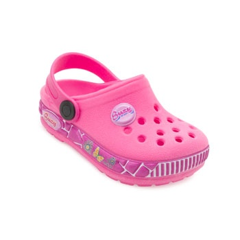 Chinelo Babuche Ted Car Baby TC19-1745 Rosa