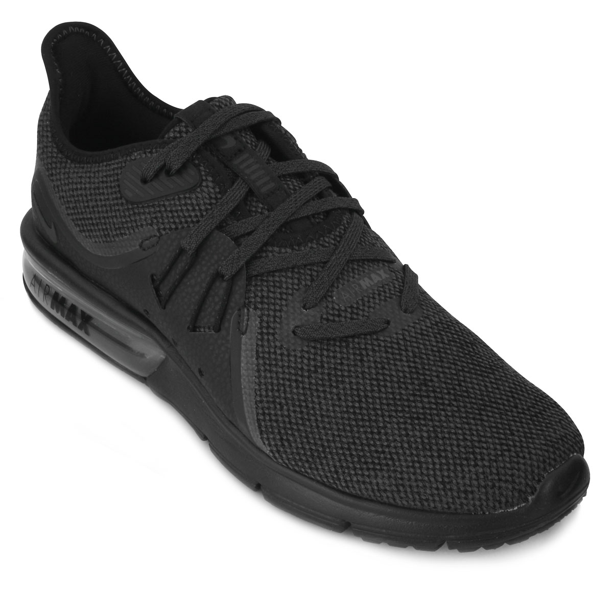 Tênis Nike Air Max Sequent 3 NK18 Preto  feebfeed2f4c9