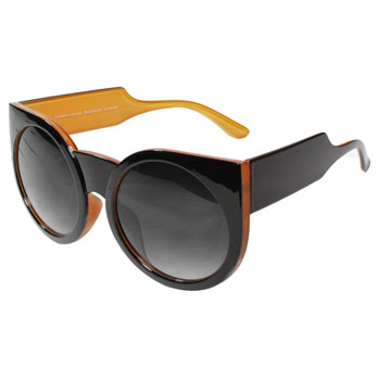 Óculos Ray Flector Maple Buckingham VTG558 CO Preto Laranja
