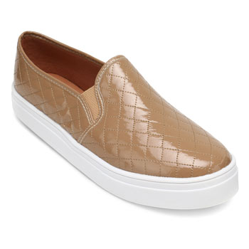 Slip On Sense Way LD19-1260 Bege TAM 40 ao 44